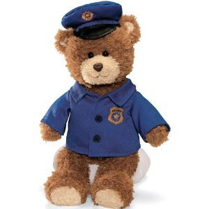 Gund Career Bear - Police Officer by Gund