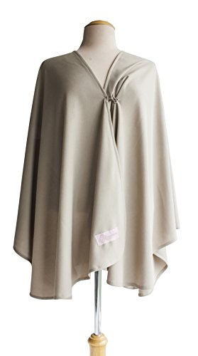 Primo Bebitza Antibacterial and UV Waffle Nursing Cover, Taupe