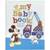 "Disney Mickey & Friends ""My Baby Book"" Keepsake Baby's Memory Book for first five Years - 1"
