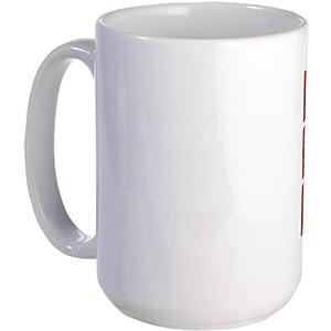 CafePress Mrs. Derek Morgan Criminal Minds Large Mug Large Mug - Standard Mul...
