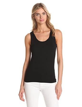 Calvin Klein Women's Compression Tank,Black,X-Small