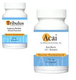 Free Acai, 500mg, 90 Capsules w/ Tribulus