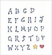 Plaid 28826 Simply Stencil, Dot Alphabet Upper Case