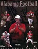 img - for Alabama Football 2000 Media Guide book / textbook / text book