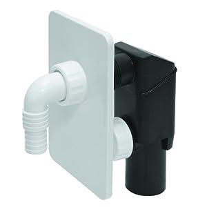 wei verborgen waschmaschine abflussrohr siphon kit selbst. Black Bedroom Furniture Sets. Home Design Ideas