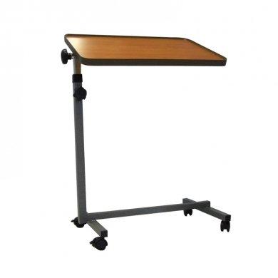 Tavolo servitore da letto tavolino ad altezza regolabile con piano 40x60inclinabile