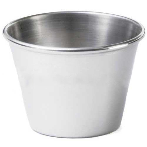 Tablecraft Stainless Steel Sauce Cup - 2.5Oz.