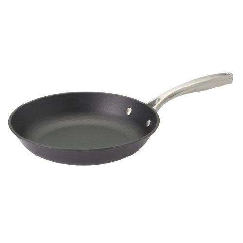 Guy Fieri 5099856 Light Wight Cast Iron Fry Pan, 10-Inch, Black front-36258