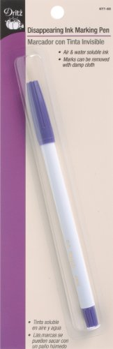 Review Dritz Disappearing Ink Marking Pen, Purple