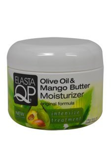 Elasta QP Olive Oil and Mango Butter Moisturizer for Unisex, 6 Ounce