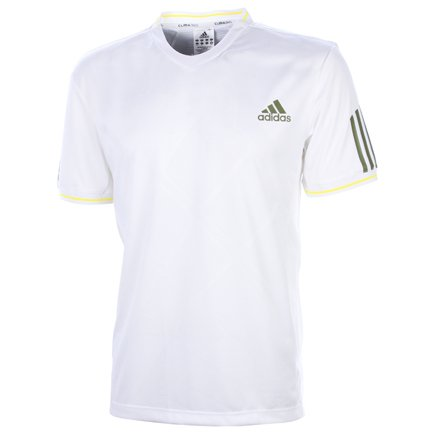 Adidas Mens White Tennis Powerweb Polo Shirt