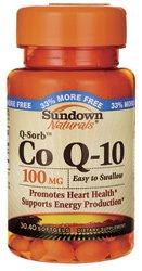Sundown Naturals Q-Sorb Co Q-10, 100 mg, Softgels, 36 ct. (Co Q10 Sundown compare prices)