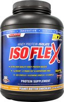 ALLMAX Nutrition IsoFlex Whey Protein Isolate Peanut Butter Chocolate with Real Chips -- 5 lbs