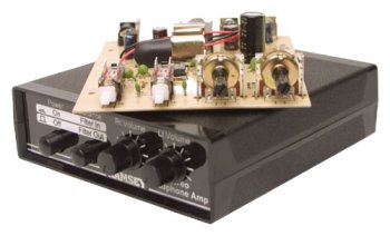 Ramsey SHA1WT Stereo Headphone Amplifier – Assembled