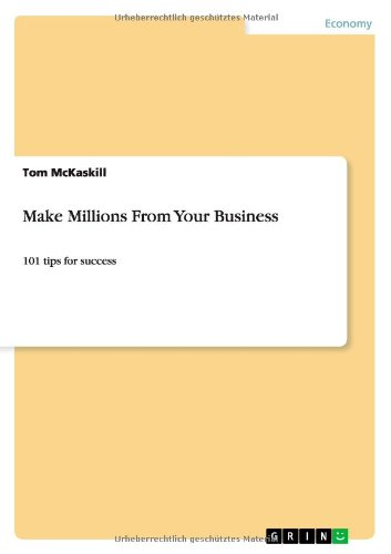 Make Millions from Your Business