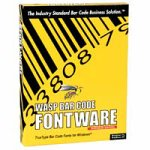 Informatics 633808063016 Wasp Bar Code Fontware
