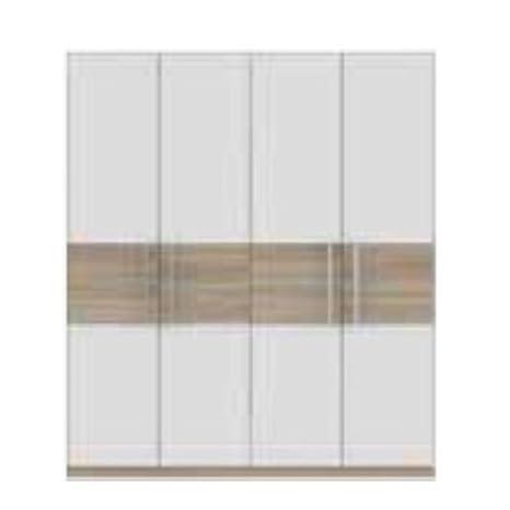 Para puertas de 4 Delfi - roble Sonoma/blanco