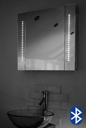 Led Mirror With Shaver Socket