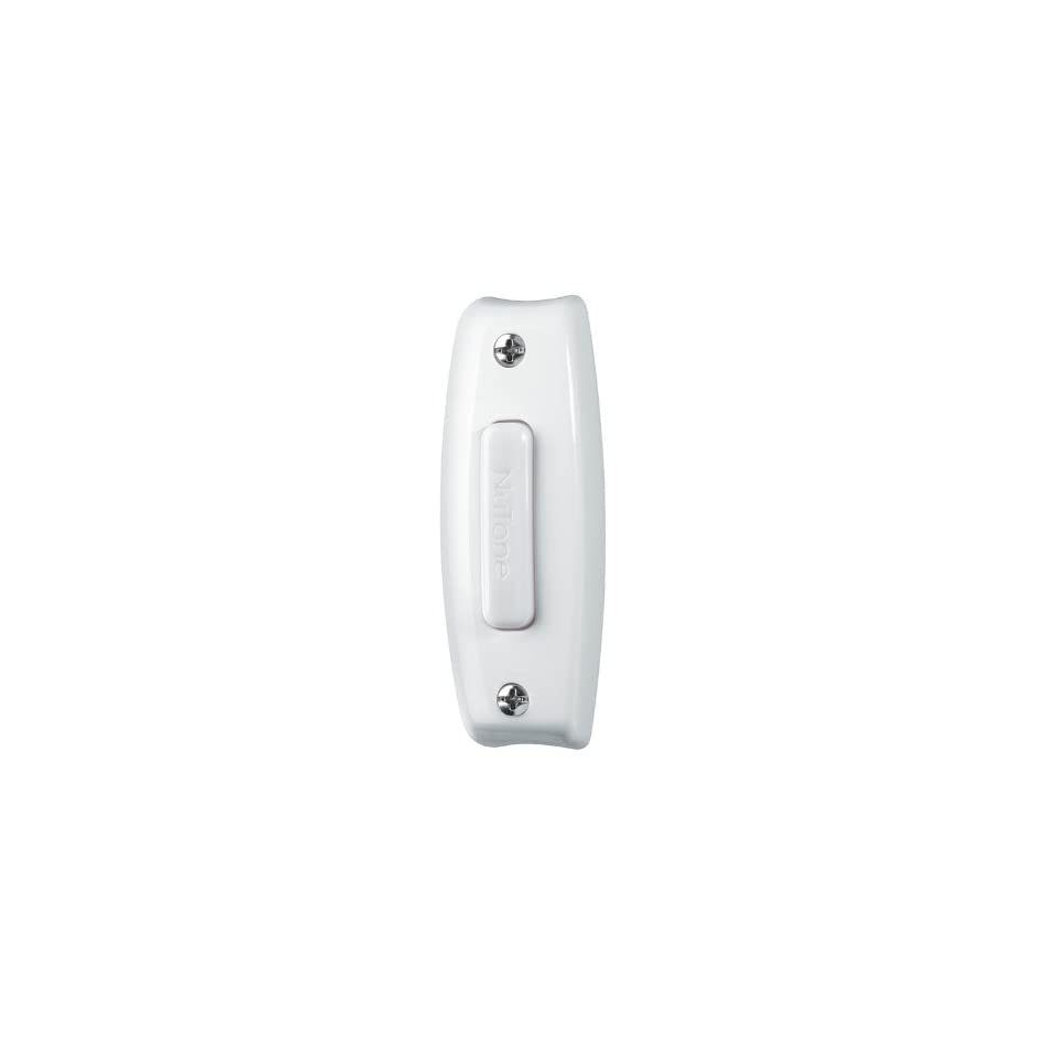 NuTone Wired Doorbell Chime CD-115WH Bulk White