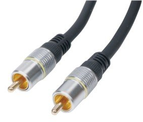 HQ 5m High End RCA Video Connection Cable