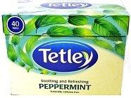 Tetley Peppermint 40 Bags ароматизатор peppermint