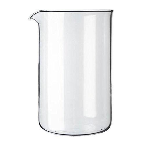 Bodum Transparent Glass Spare Coffee Maker Beaker 12 Cup 1.5L (51Oz)