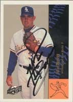 Mike Bovee Wilmington Blue Rocks - Royals Affiliate 1994 Fleer Excel Autographed Hand... by Hall of Fame Memorabilia
