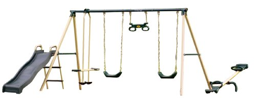 Merveilleux Flexible Flyer Backyard Fun Plays Swing Set