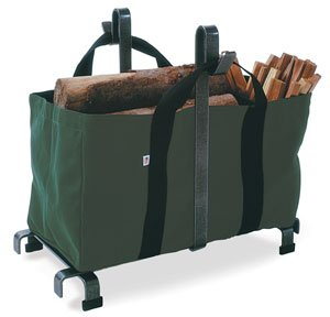 Enclume Carrier Bag Log Rack, Hammered Steel (Fireplace Rack 18 compare prices)