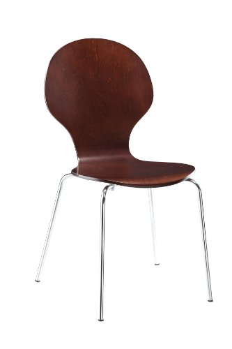 Dorel Home Products Bentwood Round Chairs, Espresso, Set of 2