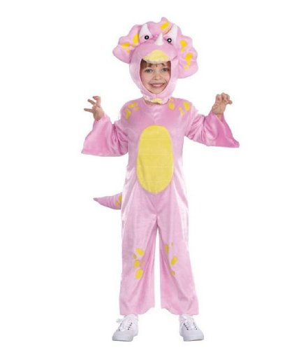 Pink Lil Dino Dinosaur Childs Toddler Costume