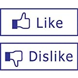 Like and Dislike Stamps - Facebook Like Button