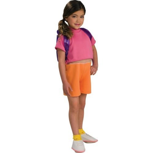 Dora the Explorer Costume Toddler Girl - Toddler 2-4T