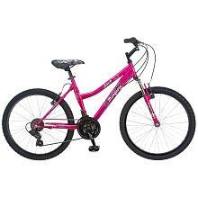 Mongoose 24 inch Bike - Girls - Blush