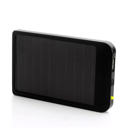 Solar Gadget Charger - 2600Mah Power Bank, Portable