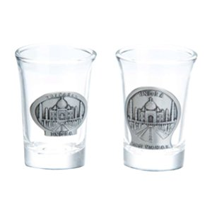 Shot Glass- Taj (Set of 2 pcs)