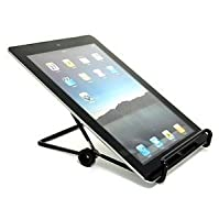 COSMOS Black Universal Adjustable Stand Holder For iPad/iPad 2 Blackberry Playbook/Samsung Galaxy Tab Tablet PC + Cosmos cable tie from Cosmos