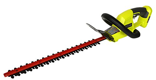 Ryobi One 18 In 18 Volt Cordless Hedge Trimmer Without