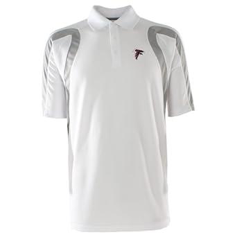 NFL Mens Atlanta Falcons Point Desert Dry Polo Shirt by Antigua