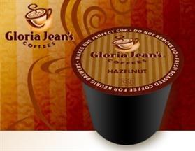 Gloria Jean's Hazelnut Coffee * 5 Boxes of 24 K-Cups *