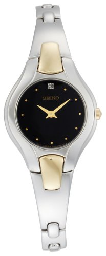 Seiko Women's SUJF87 Diamond Two-Tone Dress Watch