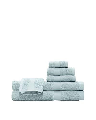 Pure Fiber 6-Piece Viscose from Bamboo Bath Towel Set, Dreamy Blue
