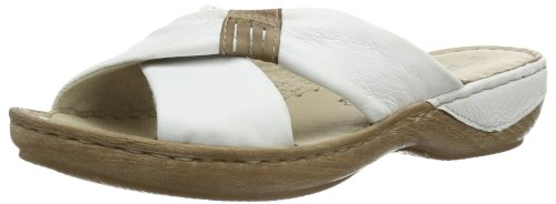 Tamaris Women's 1-1-27222-22 156 Clogs & Mules White Blanc (White/Mud) 42