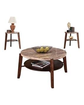 Wildon Home Nadav 3 Piece Coffee Table Set
