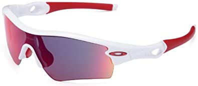Oakley Asian Fit Radar Path Polished White/Positive Red Irid