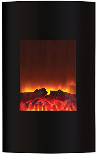 Amantii Wall Mount Series Convex Electric Fireplace