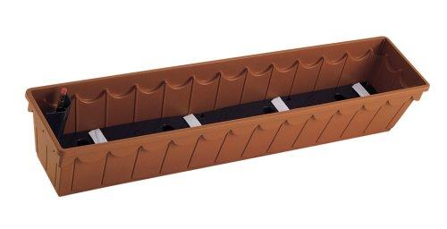 emsa 966101400 blumenkasten 100 cm terracotta palazzo aqua comfort preisvergleich wohnen. Black Bedroom Furniture Sets. Home Design Ideas