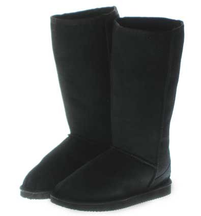 Couture Discount Damenstiefel Fell Boots, schwarz (ST49P), Gr. 39