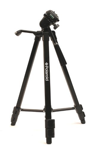 Polaroid PLTRI50  50-Inch Tripod (Black)