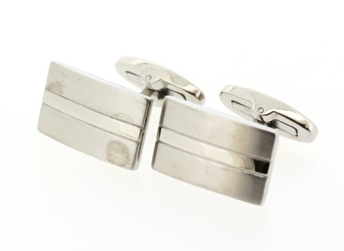 Edforce Stainless Steel Cuff Links